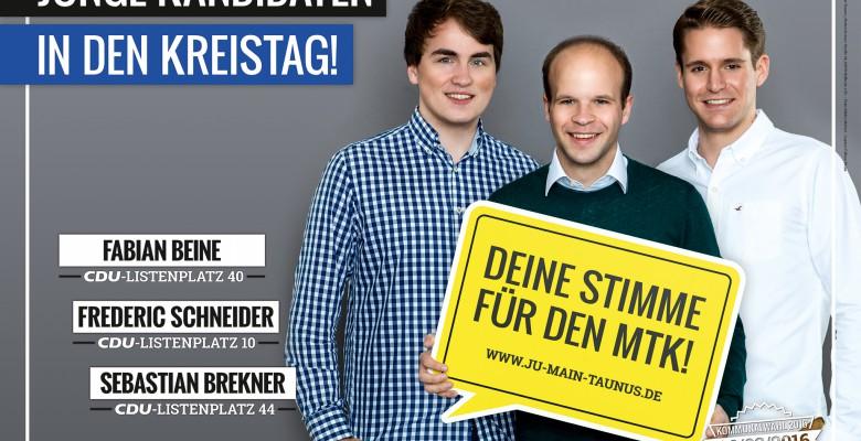 #Deine Stimme für den MTK – Junge Union Main-Taunus